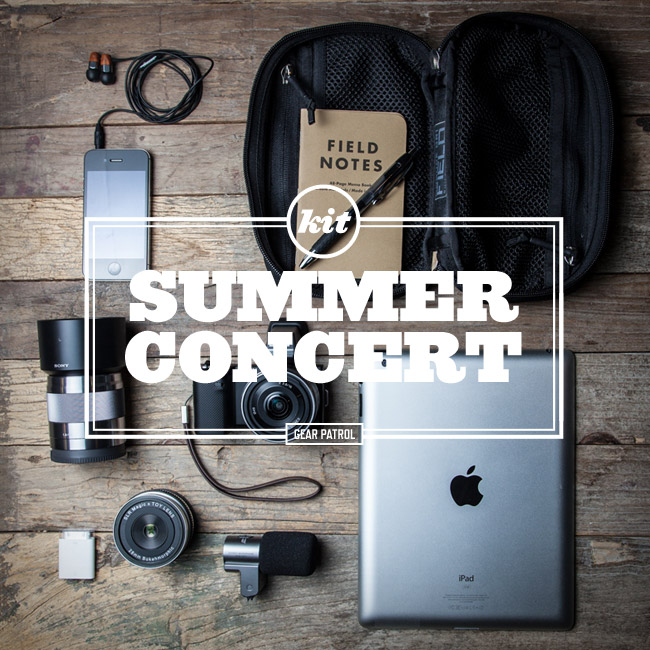 Kit | Summer Concert Photography Essentials 摄影装备选购