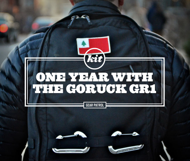 Kit: One Year with the GORUCK GR1 一年评测报告