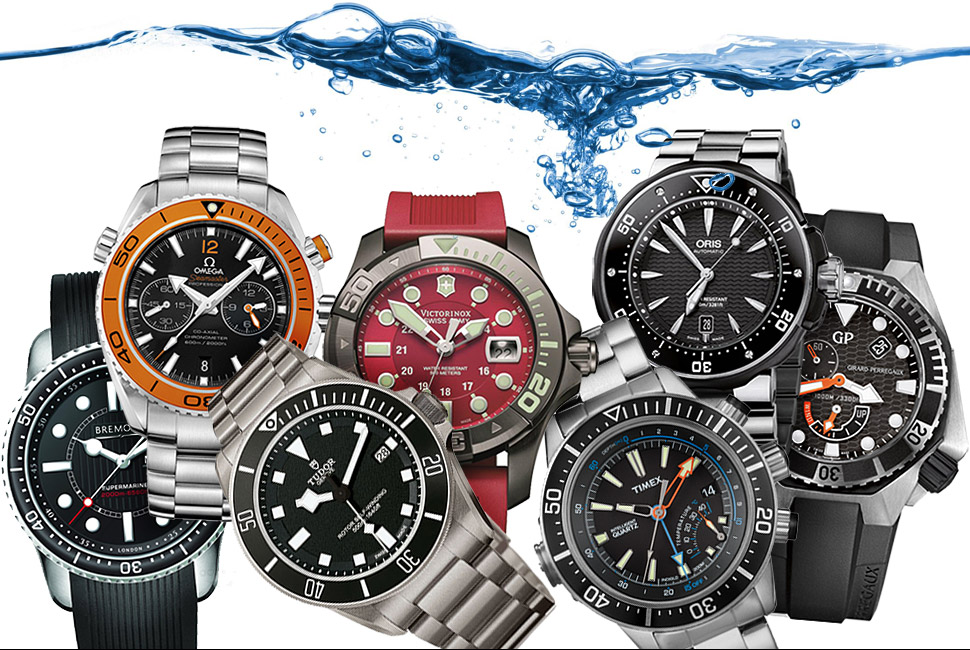 Go Deep: 7 Best Dive Watches 七款最佳潜水表推荐