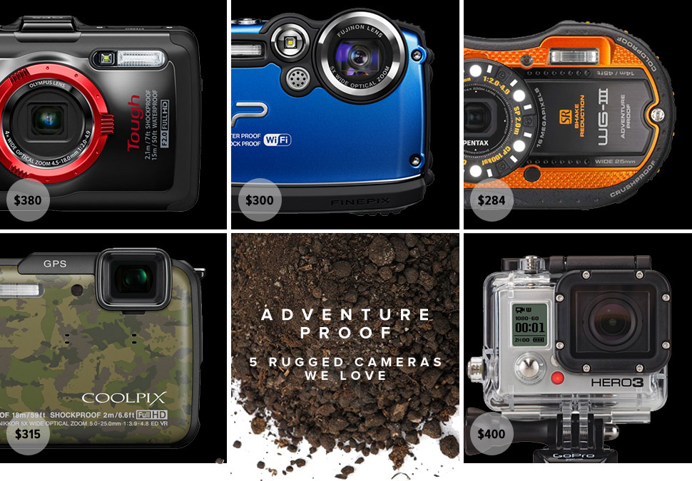 Adventure Proof: 5 Best Rugged Compact Cameras 五款最佳三防相机推荐