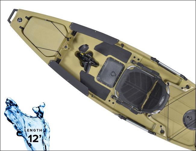 Hobie-Mirage-Pro-Angler-12-best-kayaks-gear-patrol