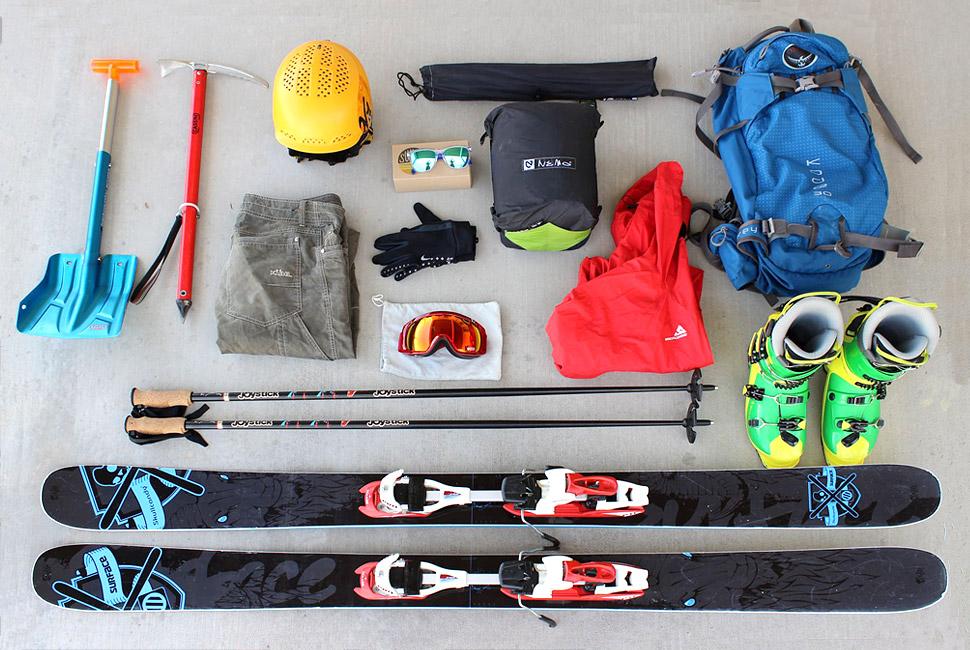 Kit: Summer Skiing 夏季滑雪装备选购