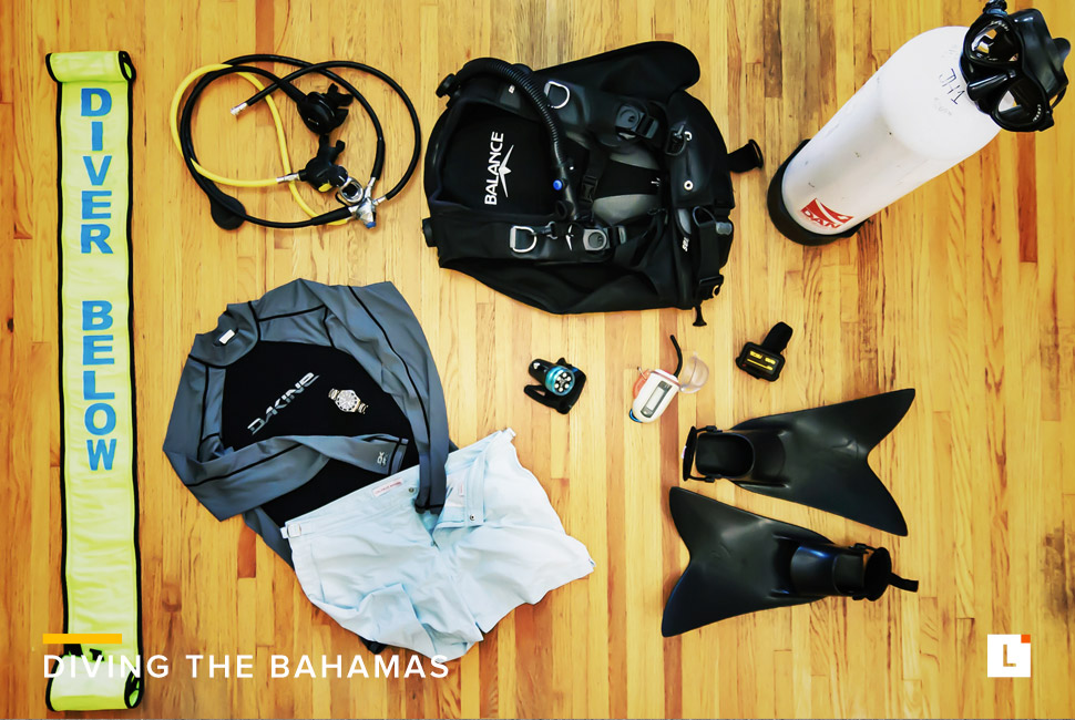 Kit: Diving the Bahamas 潜水装备选购