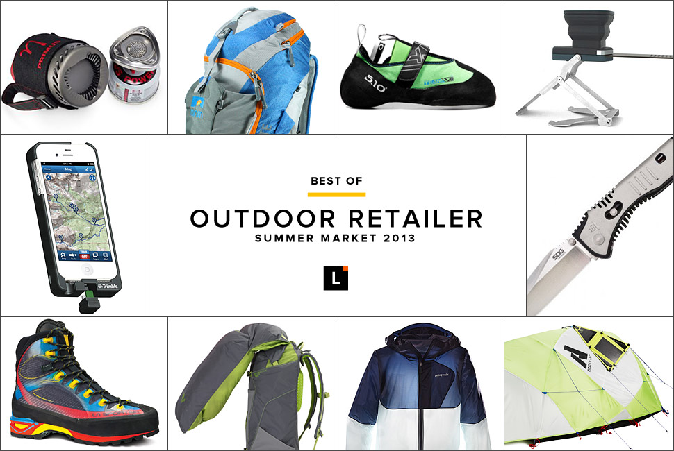 The Best of Outdoor Retailer Summer Market 2013 年夏季市场最佳装备选购
