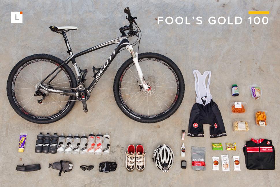 Kit: Fool's Gold 100 山地骑行装备选购