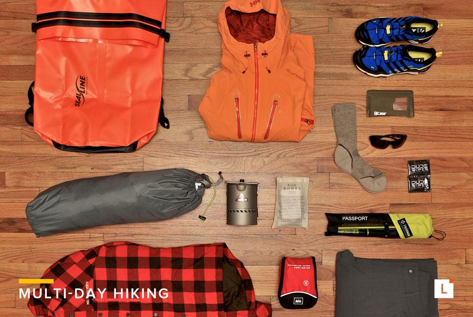 Kit: Multi-Day Hiking 多日徒步装备选购