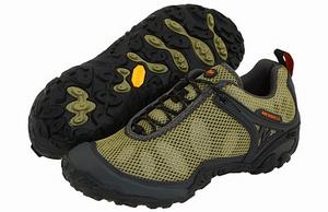 MERRELL变色龙系列CHAM3 VELUM OLIVE  R487825男款登山鞋测评报告