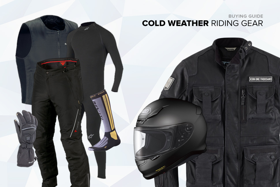 Kit: Cold Weather Riding Gear 冬季骑行装备推荐