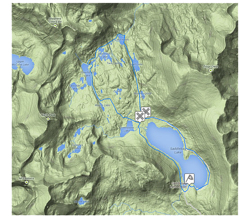 20-lakes-basin-trip-map